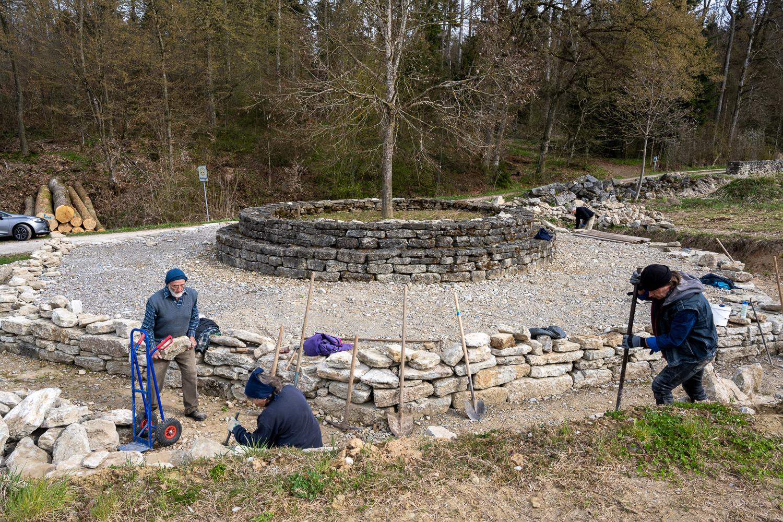Tanzlinde im Trübelbachtal: Langsam ist ein Ende absehbar
