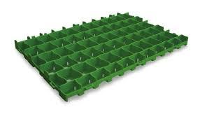 Gitterplatten für befestigte Grünflächen und für Kieswege