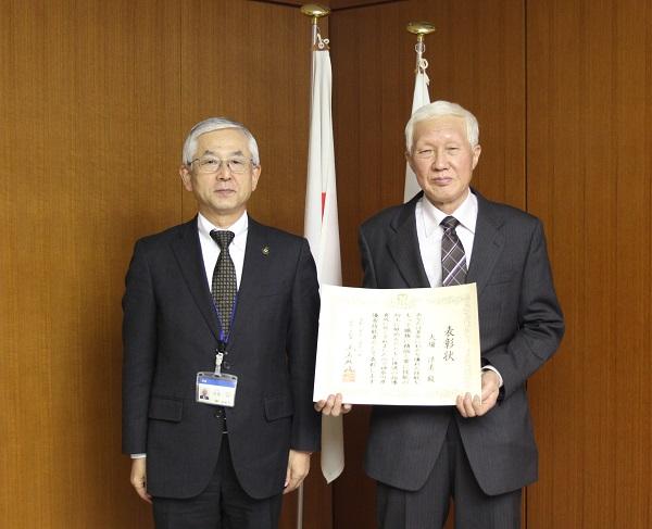 神奈川県の優秀技能者賞を受賞しました。
