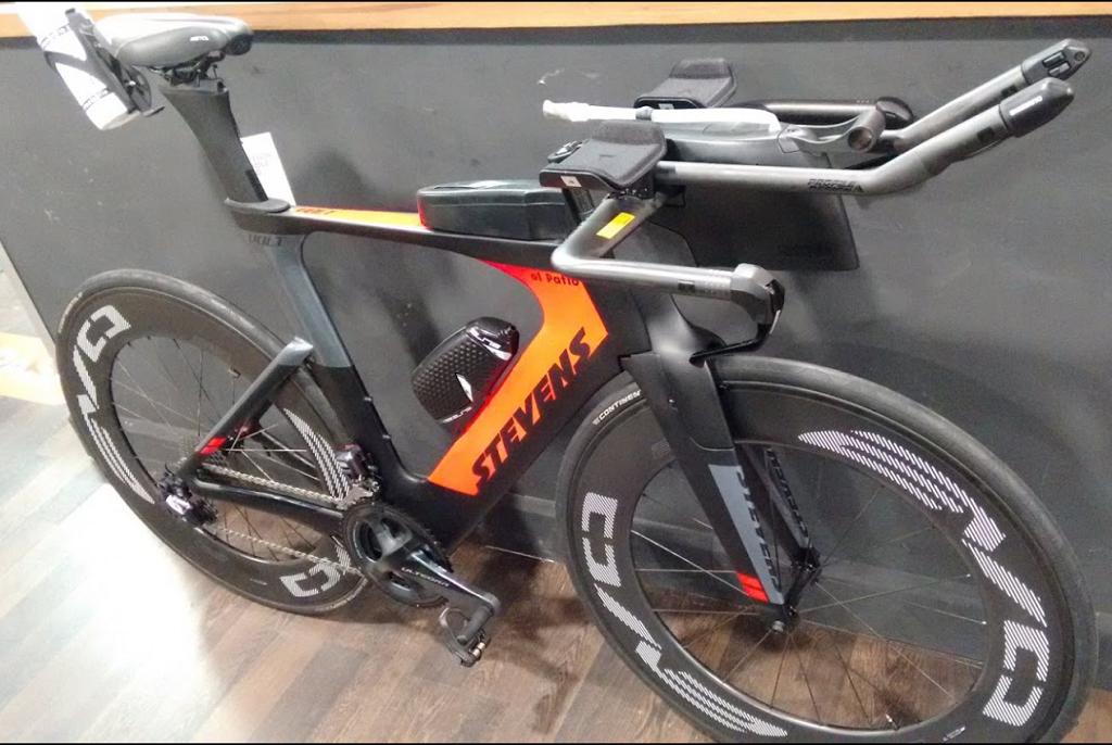 Amplia experiencia con bicicletas de Triatlón