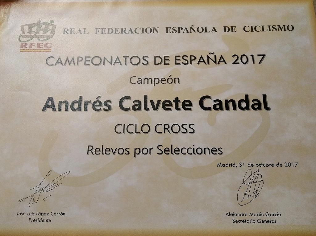 Campeón de España CX por equipos