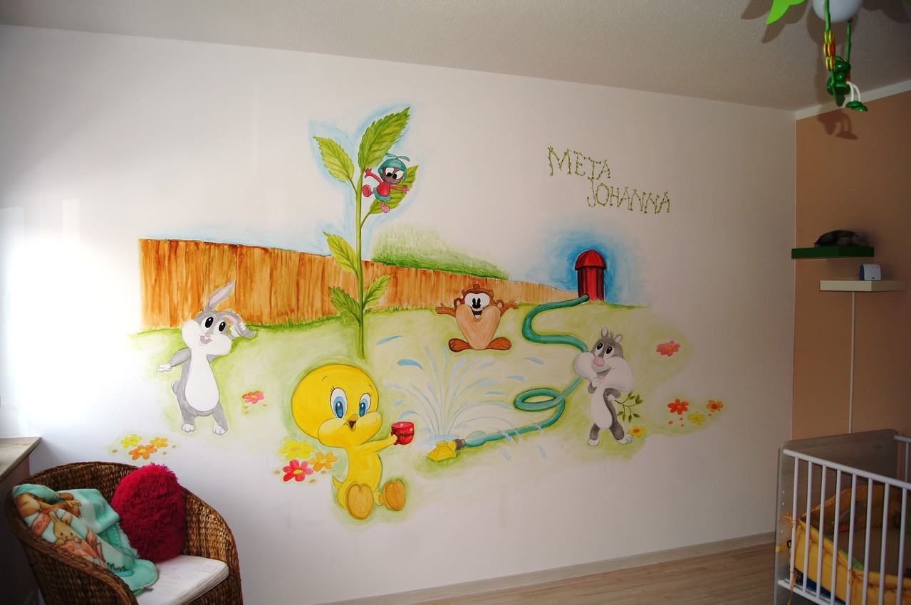 Kinderzimmer Meta Johanna - wiedensee-madlens kreative Gestaltung