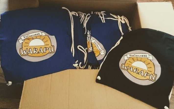 Jetzt Neu: WARAPU Sportbeutel