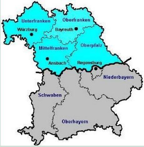 Bezirksgruppen - Webseite der KlM Landesgruppe Nordbayern