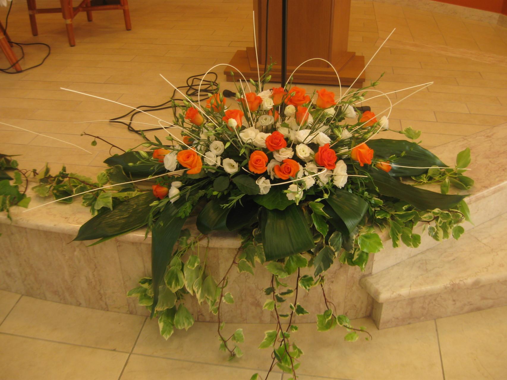 Decorazioni Matrimonio Arancione : Decorazioni floreali matrimonio decorazioni floreali matrimonio