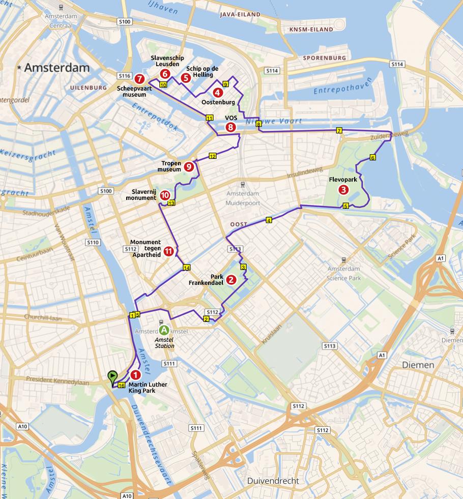 Runnermaps.nl, route 162046