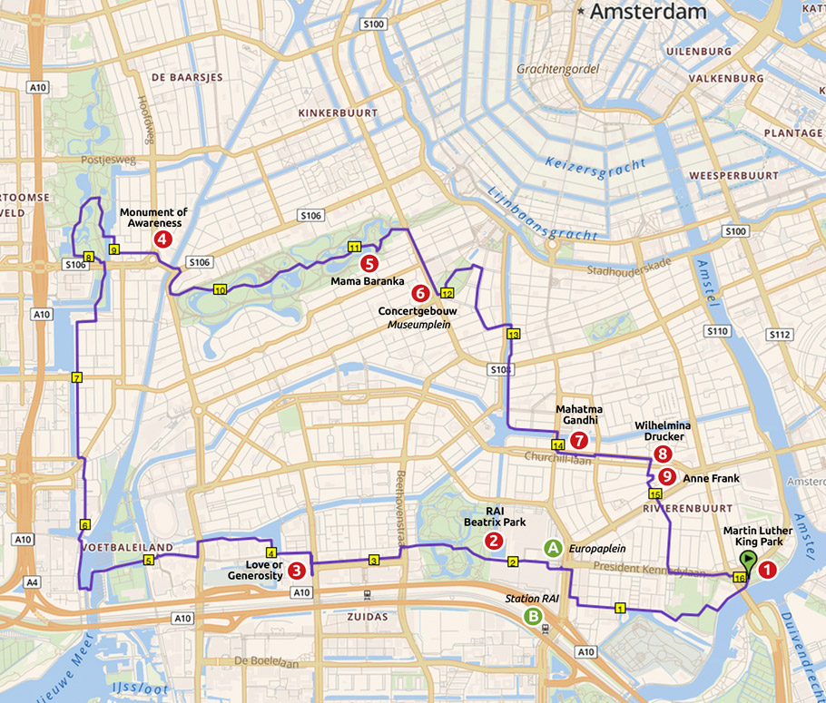 Runnermaps.nl, route 148358