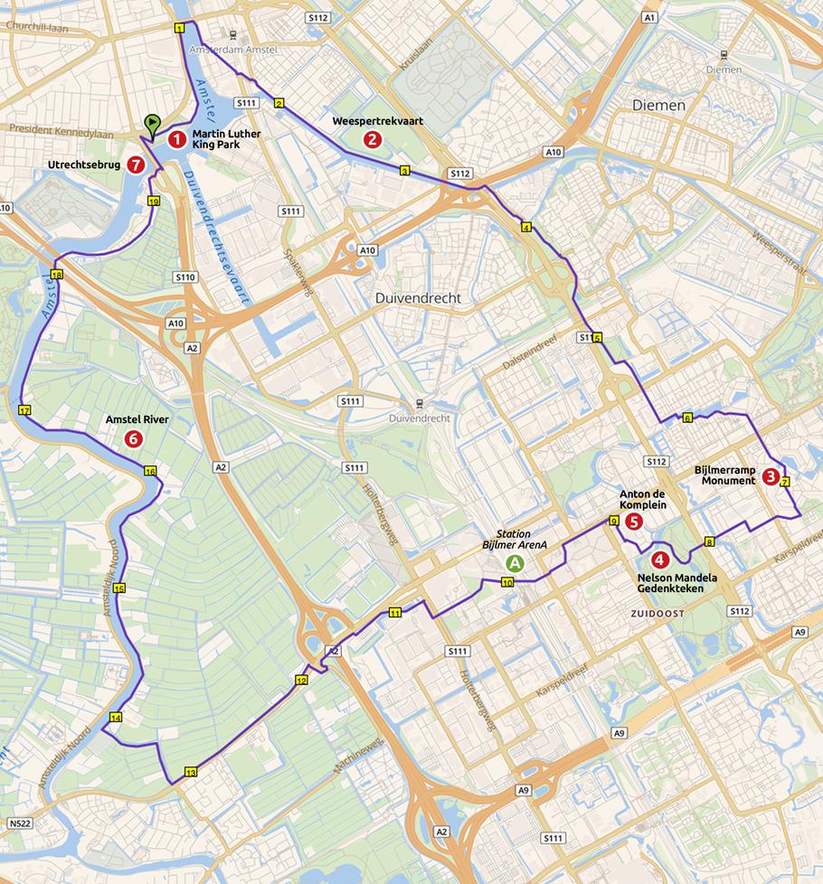 Runnermaps.nl, route 148237