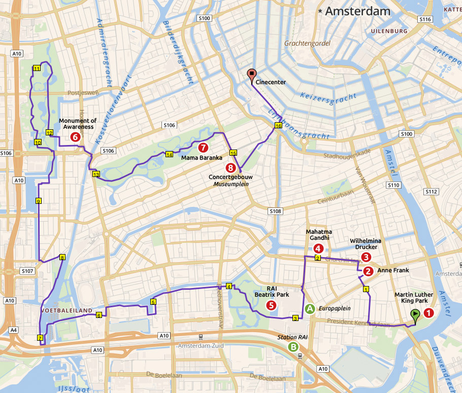 Runnermaps.nl, route 164013