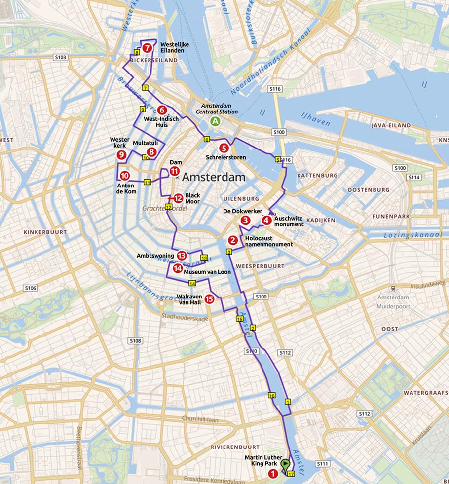 Runnermaps.nl, route 161787