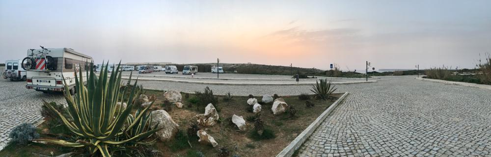 """Ein schöner Tag """"am Ende der Welt"""" geht zu Ende  Sagres, Portugal 2017"""