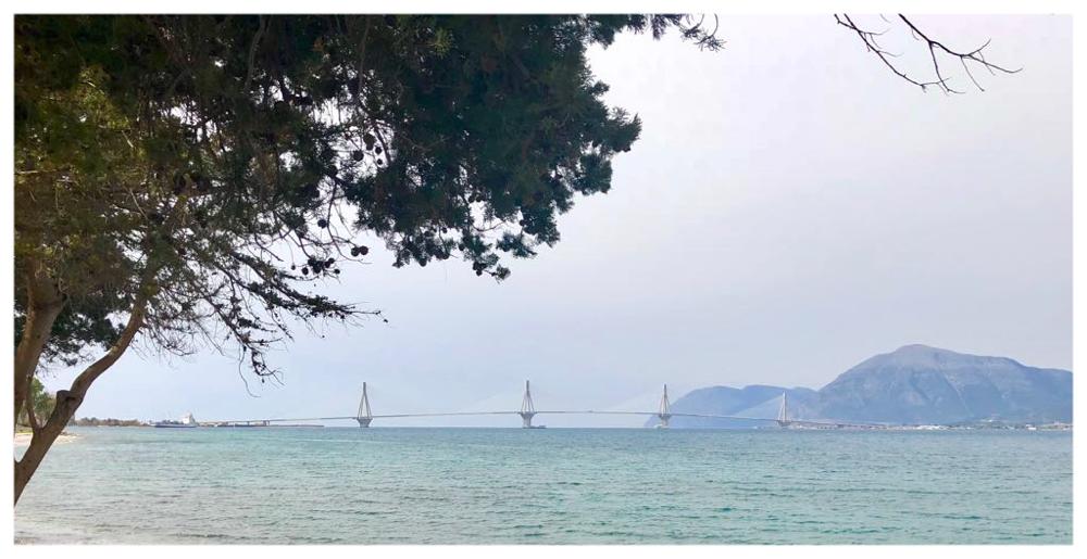 Rio-Andirio-Brücke verbindet das Festland mit der Peloponnes