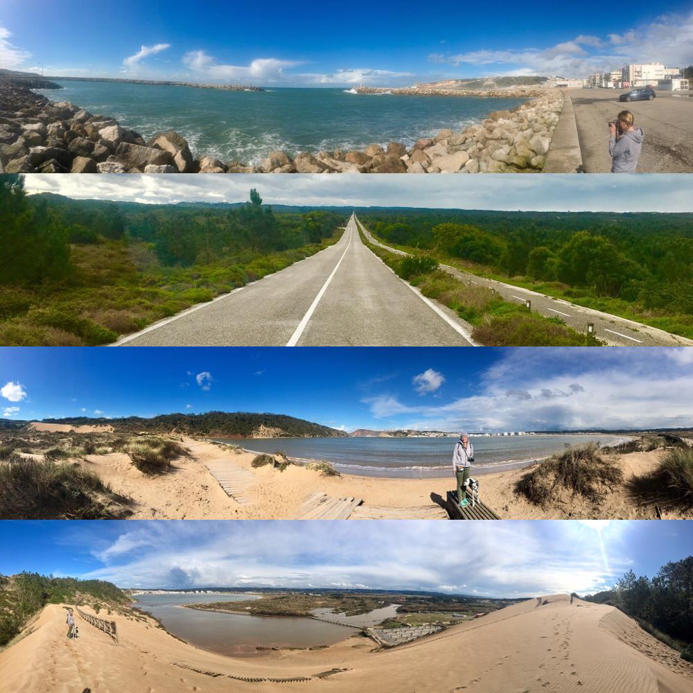 Küstenimpressionen des Tages