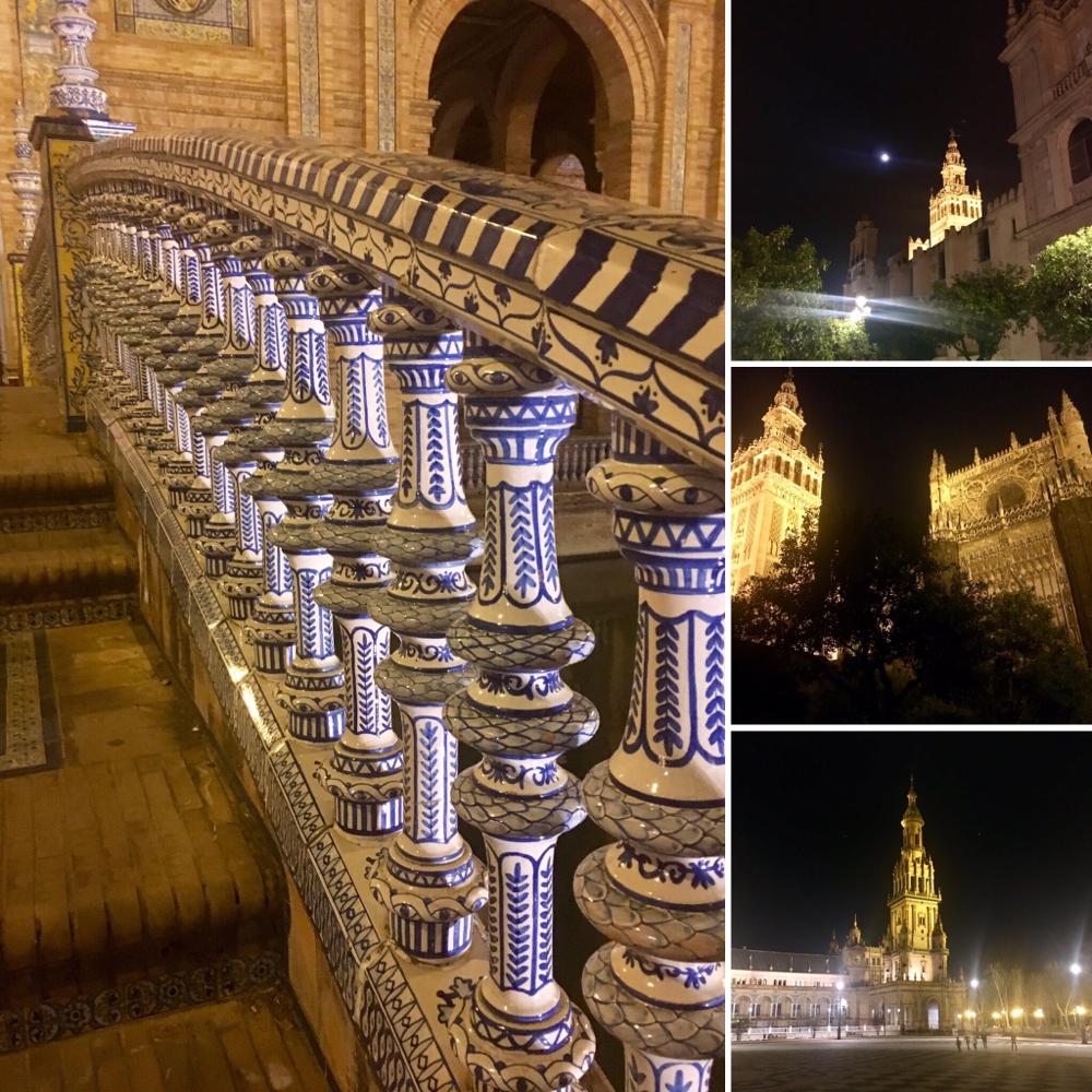 Sevilla bei Nacht II