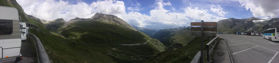 Parken & Ausblick auf der Kaiser Franz-Josefs Höhe