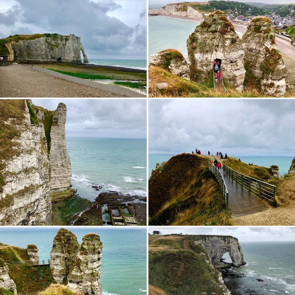 Impressionen der Steilküste