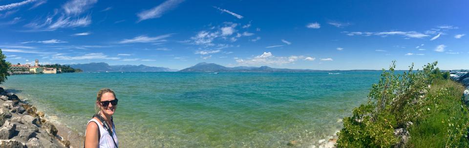 Gardasee von Süden her