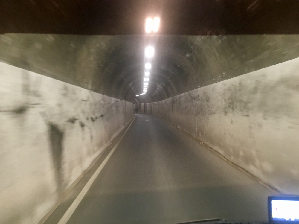 Spitzentunnel in Triest