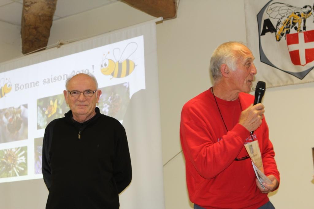2 de nos formateurs :  Etienne Bescond et Marc Richon, Henry Marquis étant absent