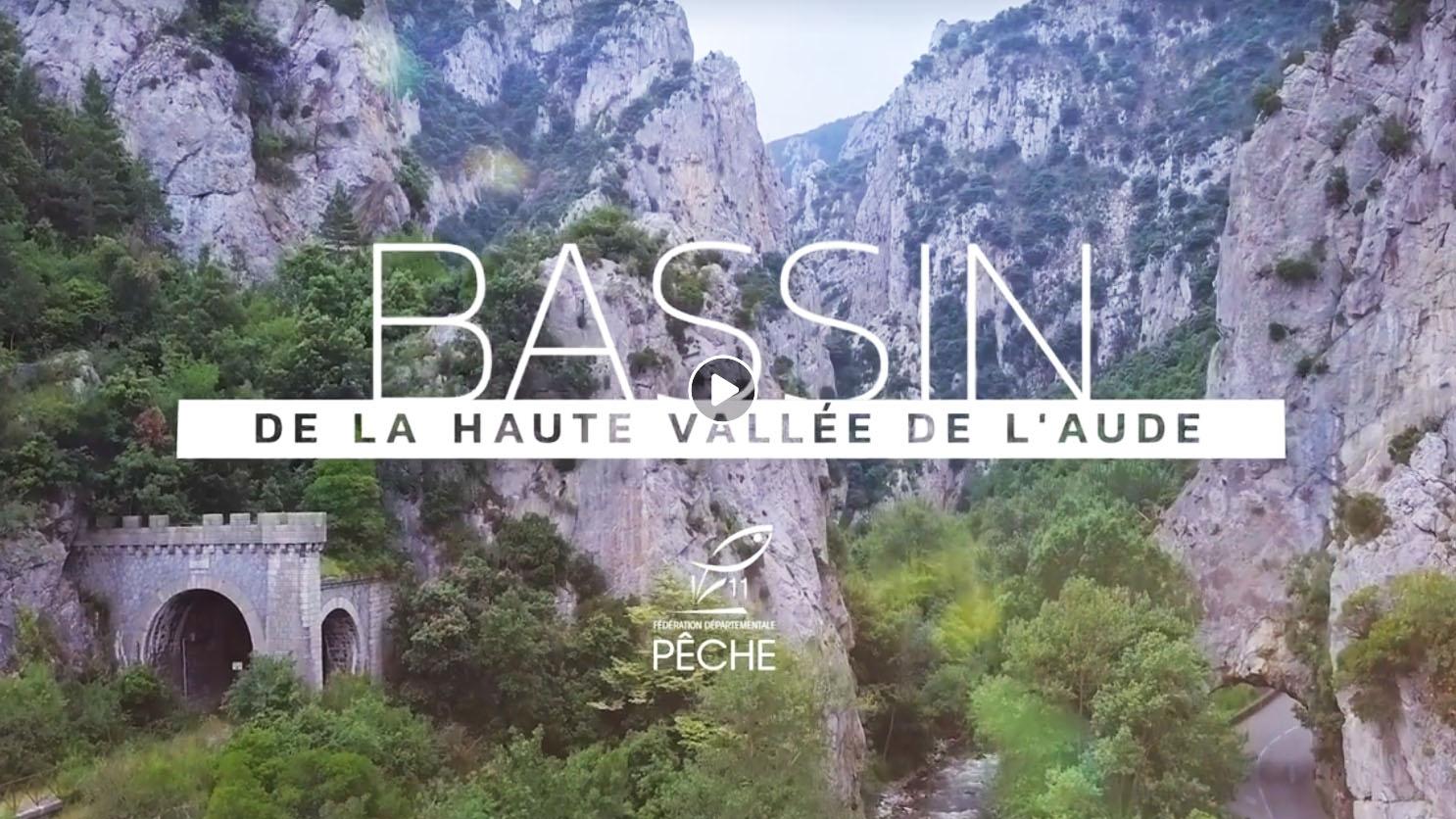 Vidéo de promotion de la pêche en Haute Vallée de l'Aude