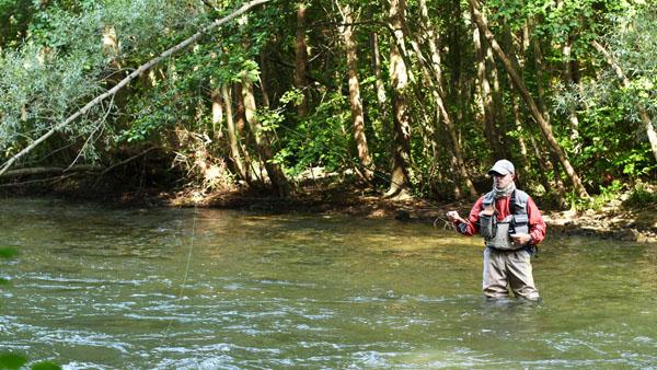 Dérogation de déplacement pour la pêche de loisir