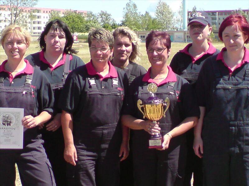 Frauen Sieger Kreisausscheid in Dranske