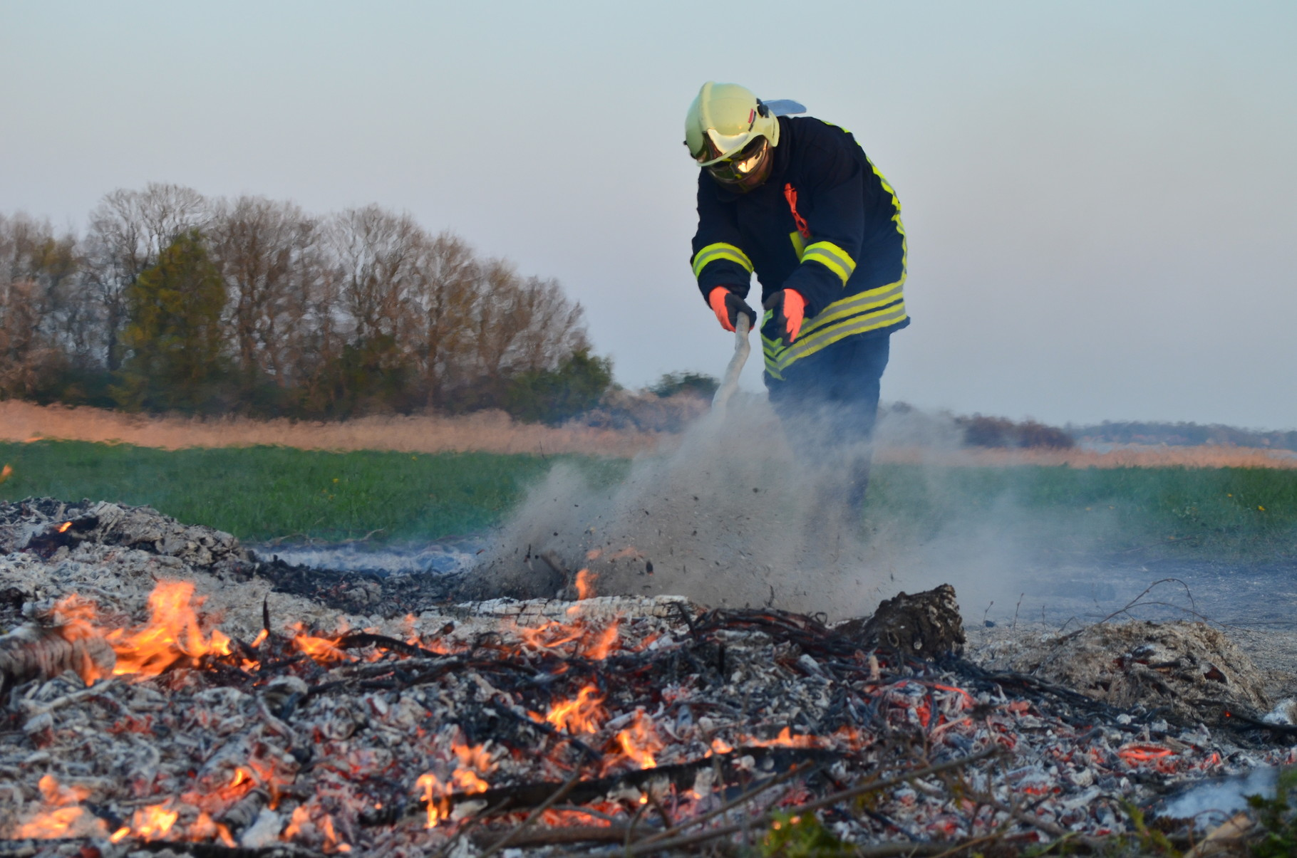 Osterfeuer 19.04.2014