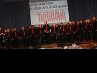 Männerchor Harmonie beim Galakonzert des HOD Daxlanden am 18.10.14