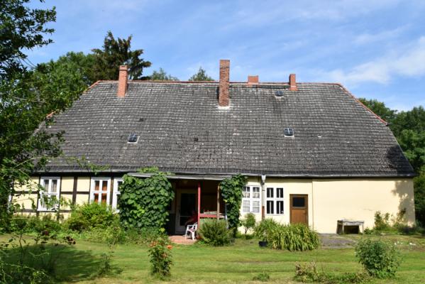 Pfarrhaus Rückseite - Gesamtansicht