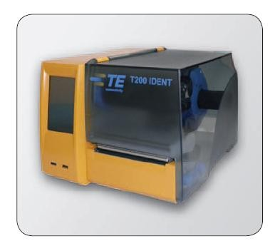 Impresora de escritorio T200-IDENT de 300 DPI de TE Connectivity