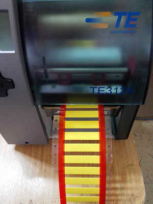 Impresora TE con marquillas W