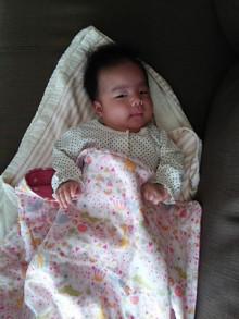 新生児から使えるガーゼケット