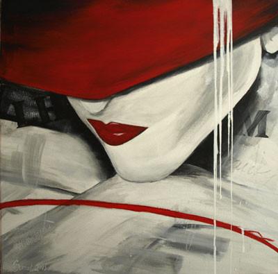 Acryl auf Leinwand 50 x 60 cm