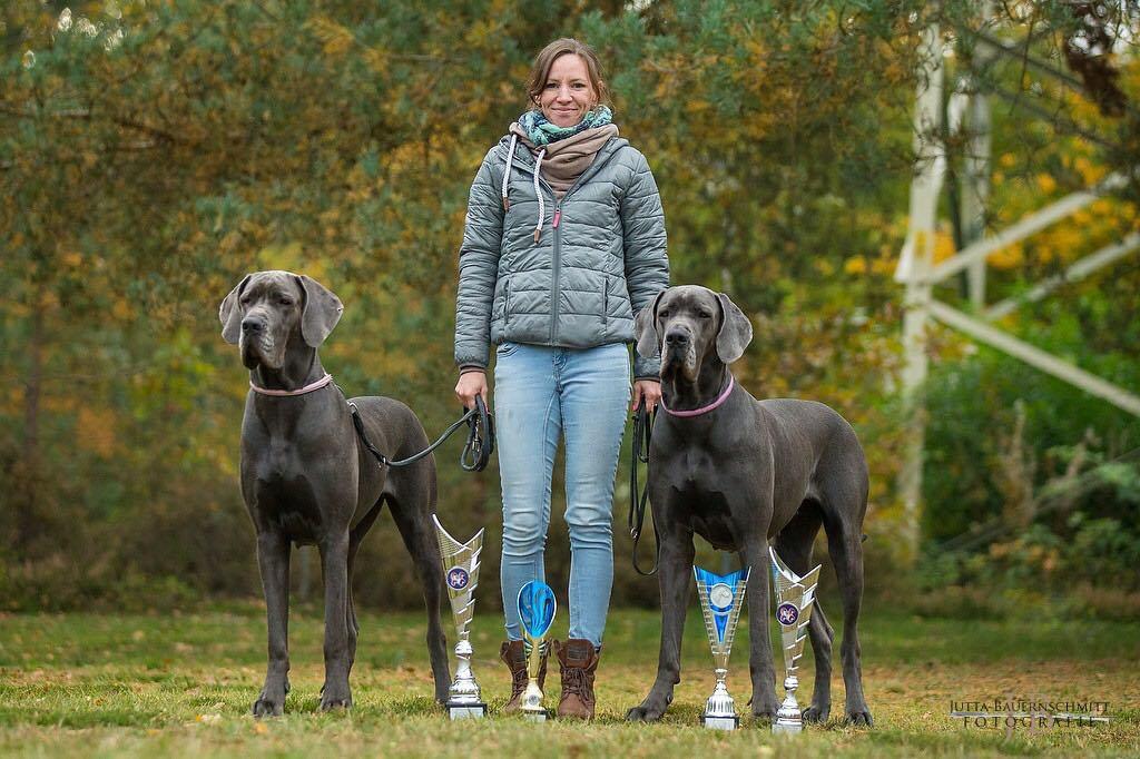 ein voller Erfolg: Dani mit ihren beiden Mädels Lotti und Cati