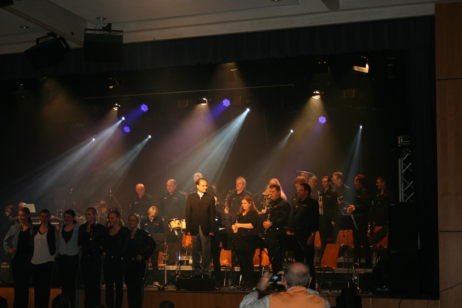 Kolpingkapellenkonzert mit den Twisters und der Tanzgruppe Release