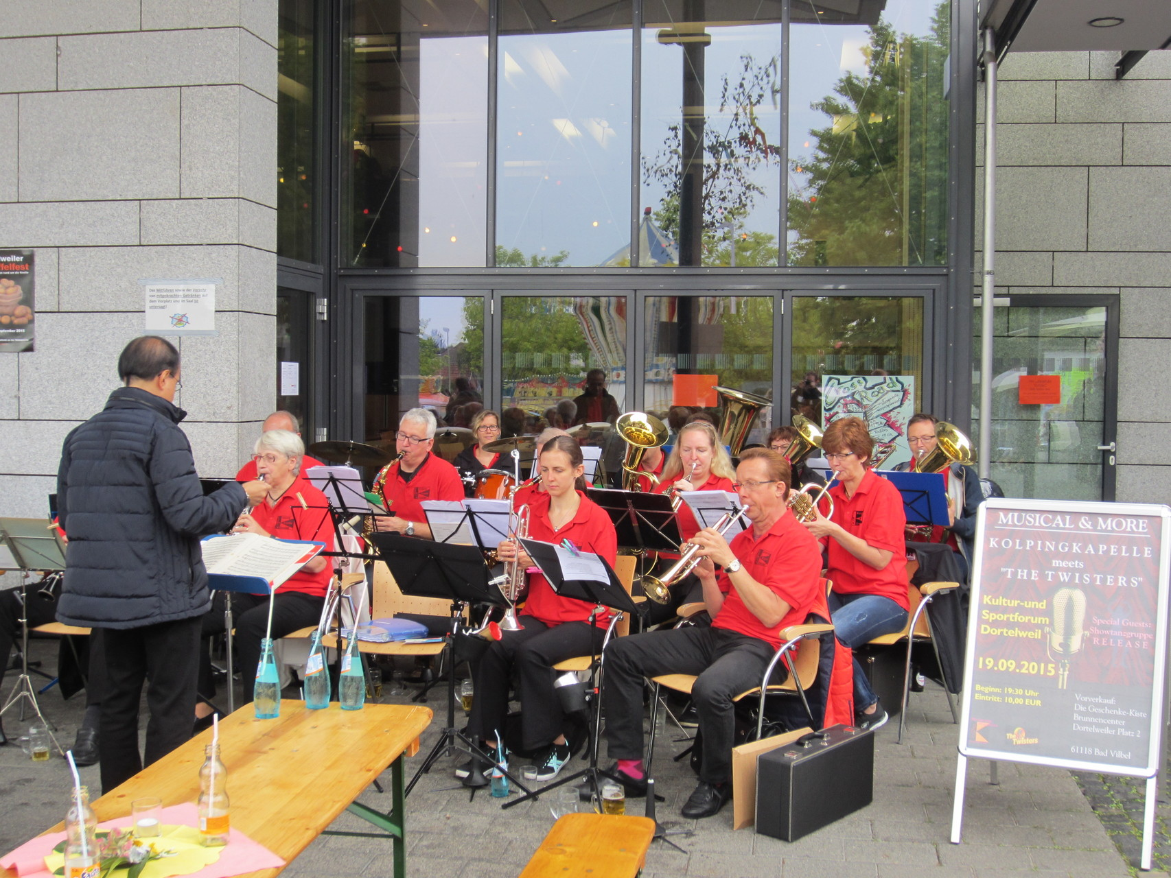 Musikalischer Frühschoppen am 13.09.2015 in Bad Vilbel-Dortelweil