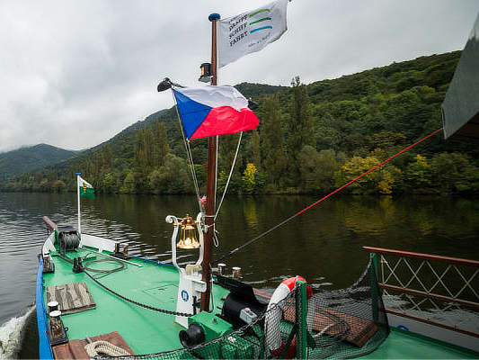 Auf geht es nach Böhmen und das auf einem Dampfschiff!