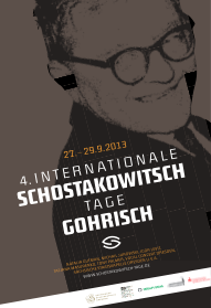 Internationale Schostakowitsch Tage in Gohrisch