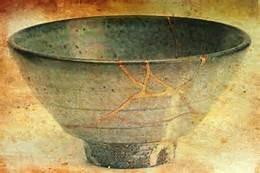 Japanese Kintsugi Pottery