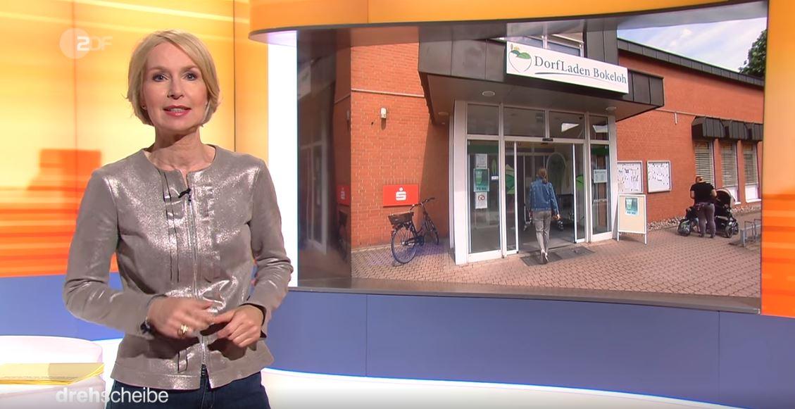 ZDF Drehscheibe ist zu Besuch