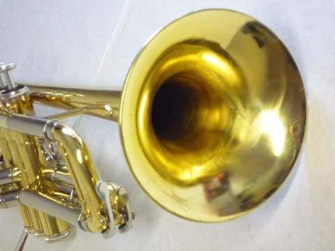 Jazz-Trompete nach der Überholung