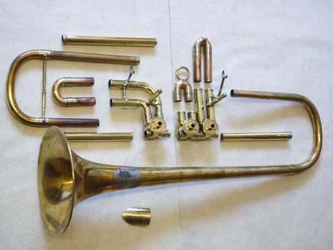 Konzert-Trompete, Erbstück, Generalüberholung