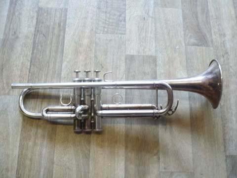 Jazz-Trompete, Bach, vor der Überholung