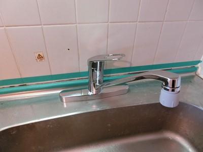 柏 現状回復 リフォーム 水栓 交換