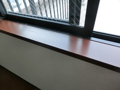 窓枠 塗装