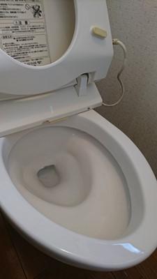 空室クリーニング トイレ 黒ずみ