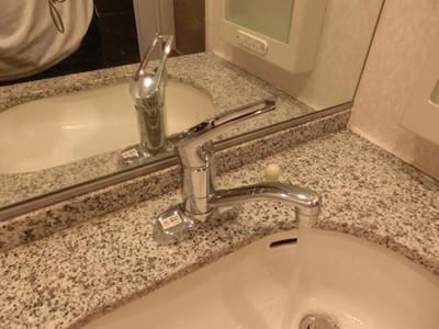 水栓 交換 洗面台