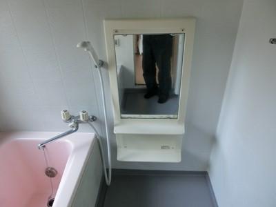 浴室 リフォーム 水栓 鏡 交換