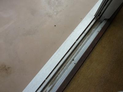 窓枠 ハウスクリーニング サッシ