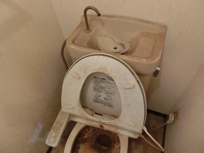 現状回復 トイレ 汚れ 尿石 匂い ホコリ